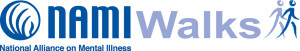 NAMIWalks Blue Logo